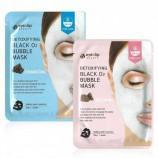 Очищающая пузырьковая маска для лица Eyenlip Detoxifying Black O2 Bubble Mask - Мимишоп Интернет-магазин корейской косметики Екатеринбург