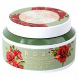 Тонизирующий крем для тусклой вялой кожи с куперозом с экстрактом розы Jigott Rose Flower Energizing Cream - Мимишоп Интернет-магазин корейской косметики Екатеринбург